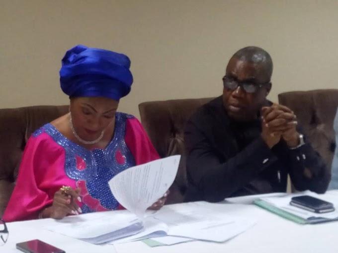 Ukelle/Izzi: Prof Ivara Esu, Chief Eric Kelechi, Sen Rose Oko, others meet in Abuja to discuss the way forward