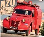 Citroën 1955 2 CV AZU des sapeurs-pompiers
