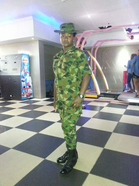 Don't Be Afraid To Approach A Female Soldier You Love - A Soldier Girl (photos)
