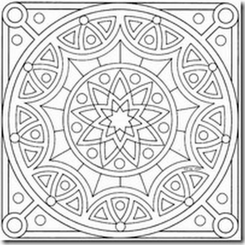 Imagenes gratis de mandalas para colorear