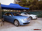Bentley Continental and Mercedes
