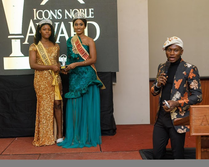 Queen Faith Ajayi wins Icon Noble Awards Influential beauty queen of the year