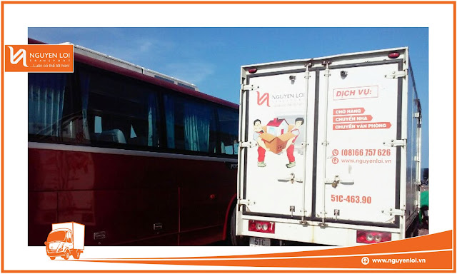 Thuê xe tải chở hàng huyện Hóc Môn