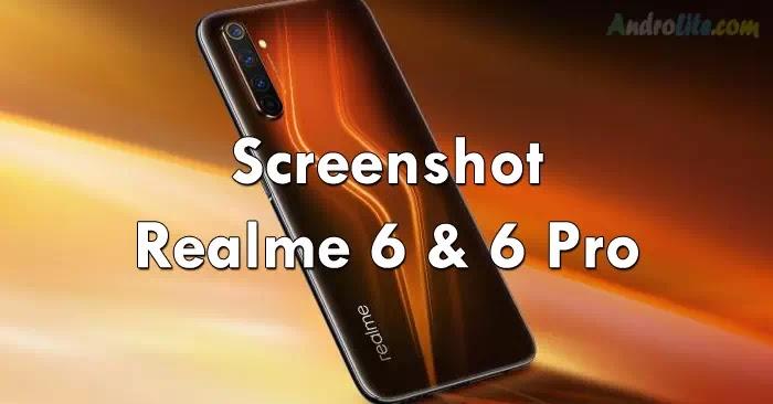 Screenshot Realme 6 dan 6 Pro