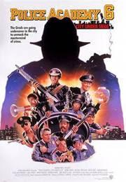 Loca academia de policía 6 Ciudad sitiada (1989)
