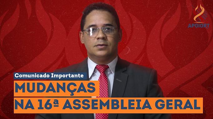 FALA COMIGO, MEU PRESIDENTE (APOIORT TV) - Presidente da APOIORT aponta novas diretrizes para a Assembleia Geral