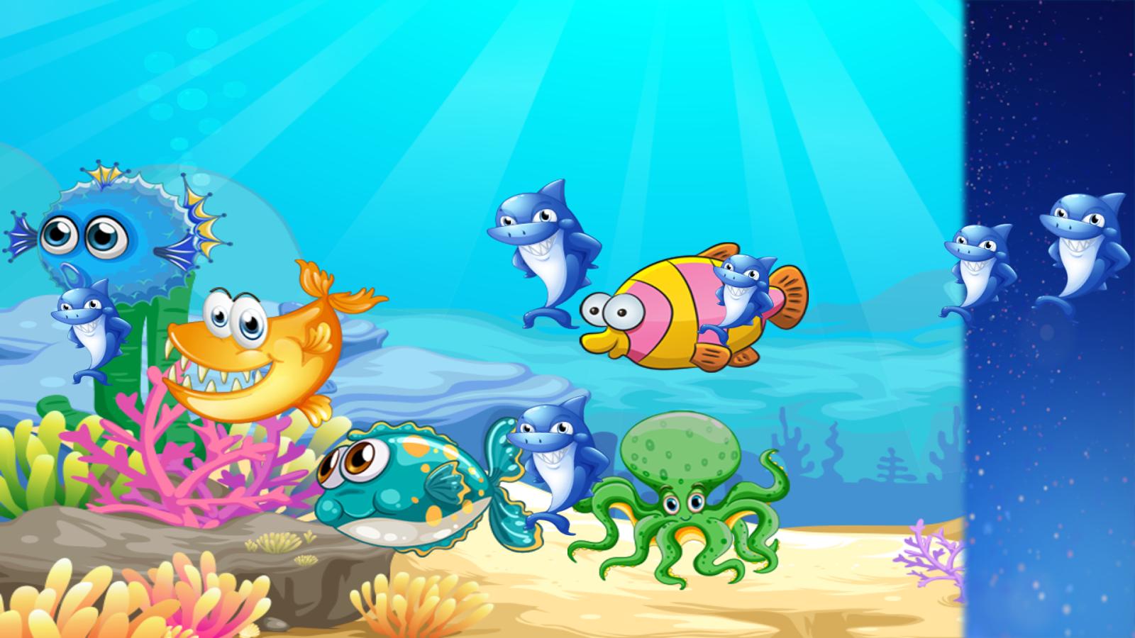 Gambar Ikan Kartun Berwarna