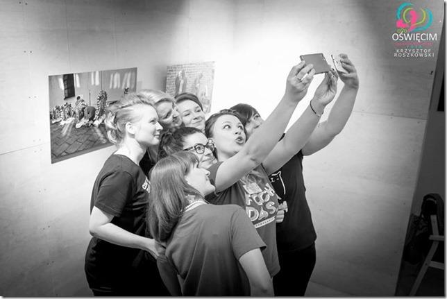 Oświęcim dla blogujących mam Krzysztof Roszkowski selfie