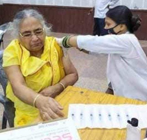कोरोना टीका का सेकेंड डोज देने में समस्तीपुर नगर निगम सबसे आगे