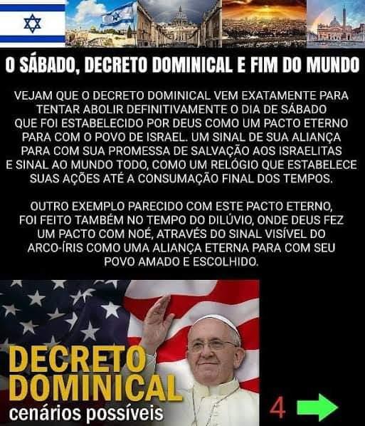 Decreto Dominical, cenário possível