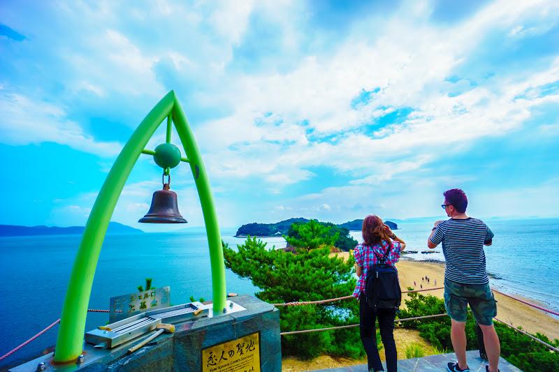 小豆島 エンジェルロード 約束の丘展望台 6