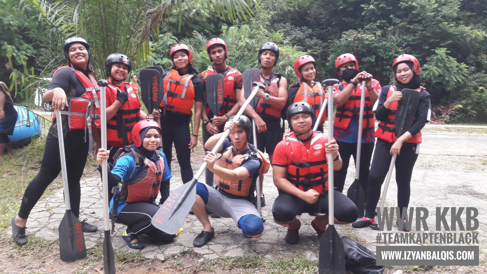 White Water Rafting Kuala Kubu Baru Aktiviti Lasak Fit Superb 5.0