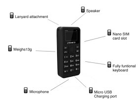 Check Out The Zanco Tiny T1 - The Smallest Phone In The World 3