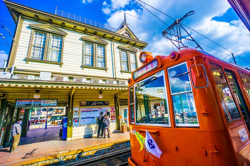 伊予鉄道 路面電車 オレンジ1
