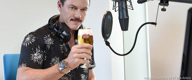"Stella Artois Invites You to Gather Friends, Grab a Stella Artois and Tune Into ""STELLASPACE"" - An Audio Guide to Mastering the Art of Beer Sipping Narrated by Actor Luke Evans"