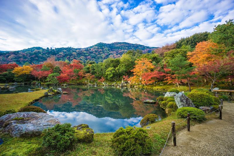 京都 紅葉 天竜寺 写真4