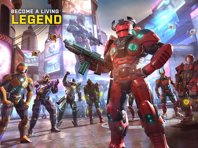 SHADOWGUN LEGENDS: Multiplayer FPS Shooting game Screenshot 17
