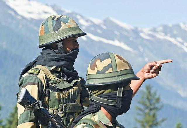 BSF Near China Border