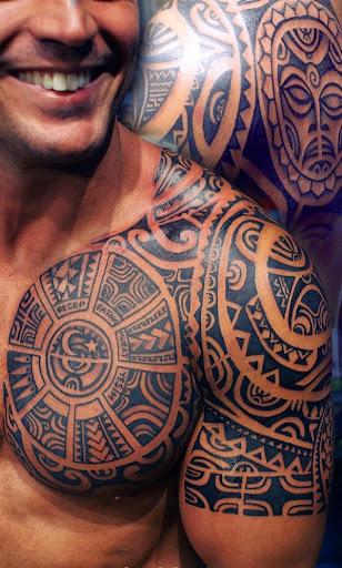 polynesian tattoos for men