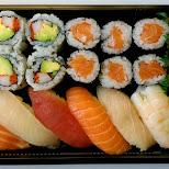 sushi time in Toronto, Ontario, Canada