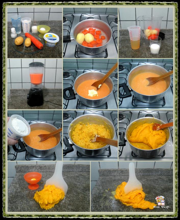 Nhoque de batata colorido 10