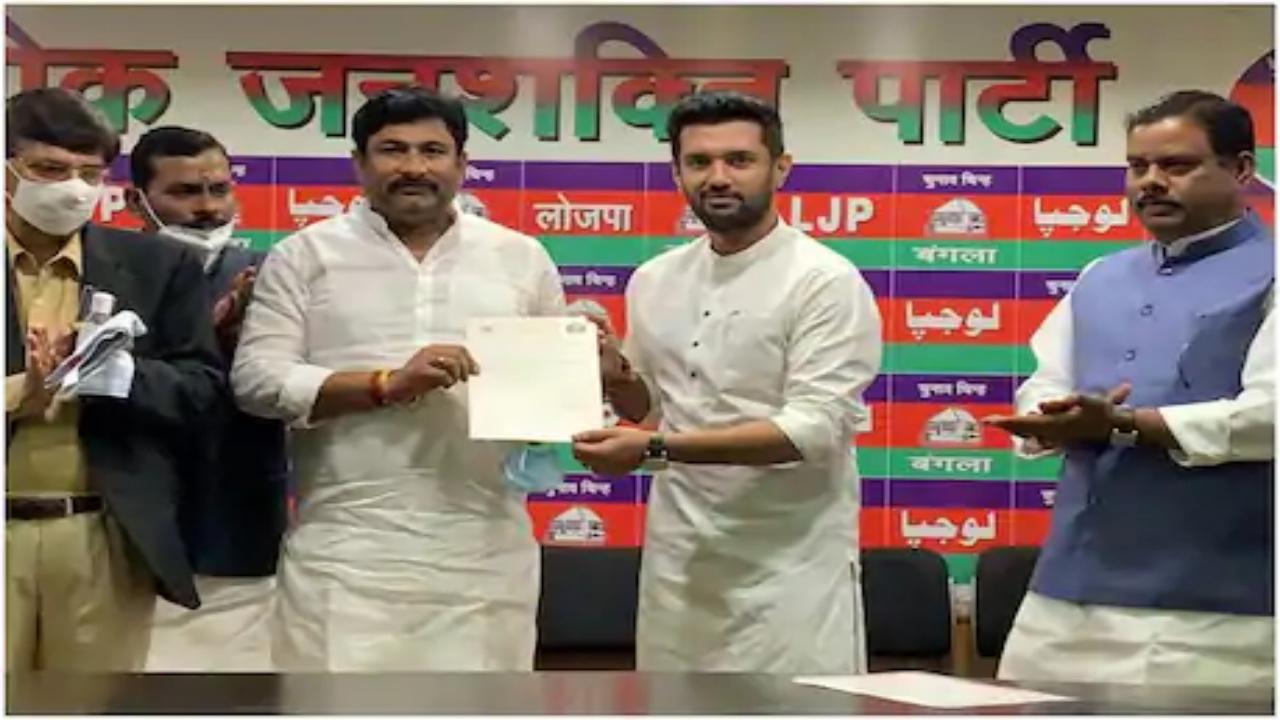 भाजपा-JDU की सेंधमारी के बीच चिराग पासवान का बड़ा कदम, राजू तिवारी बने बिहार LJP के कार्यकारी अध्यक्ष