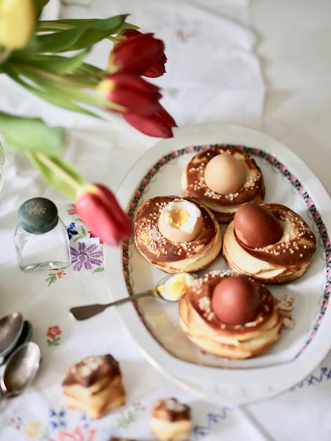 Festliches Essen Ostern