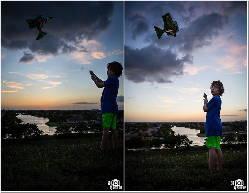Kite Sunset silhouette-8666 (2)