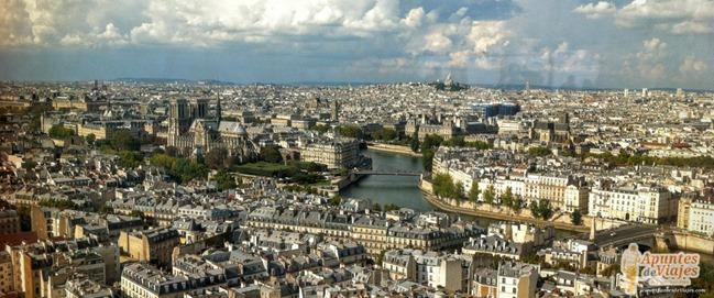 Vistas de Paris Torre Jussieu 6