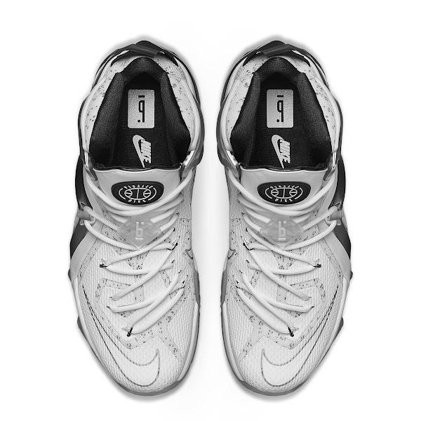 PIGALE Nike LeBron 12 Elite  Catalog Images