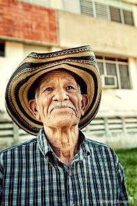 Old man in Santa Clara, Cuba