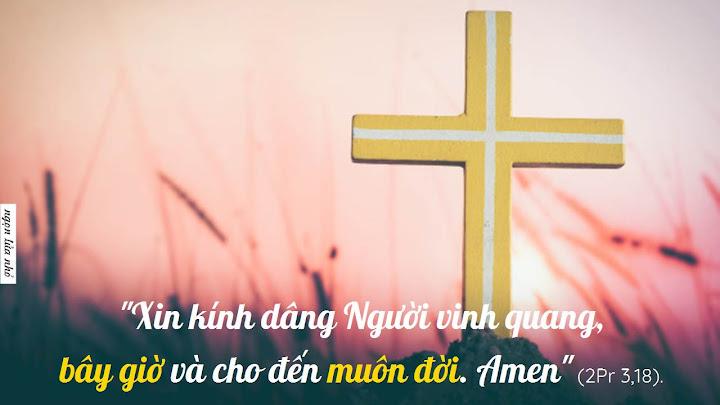Tôn vinh Chúa