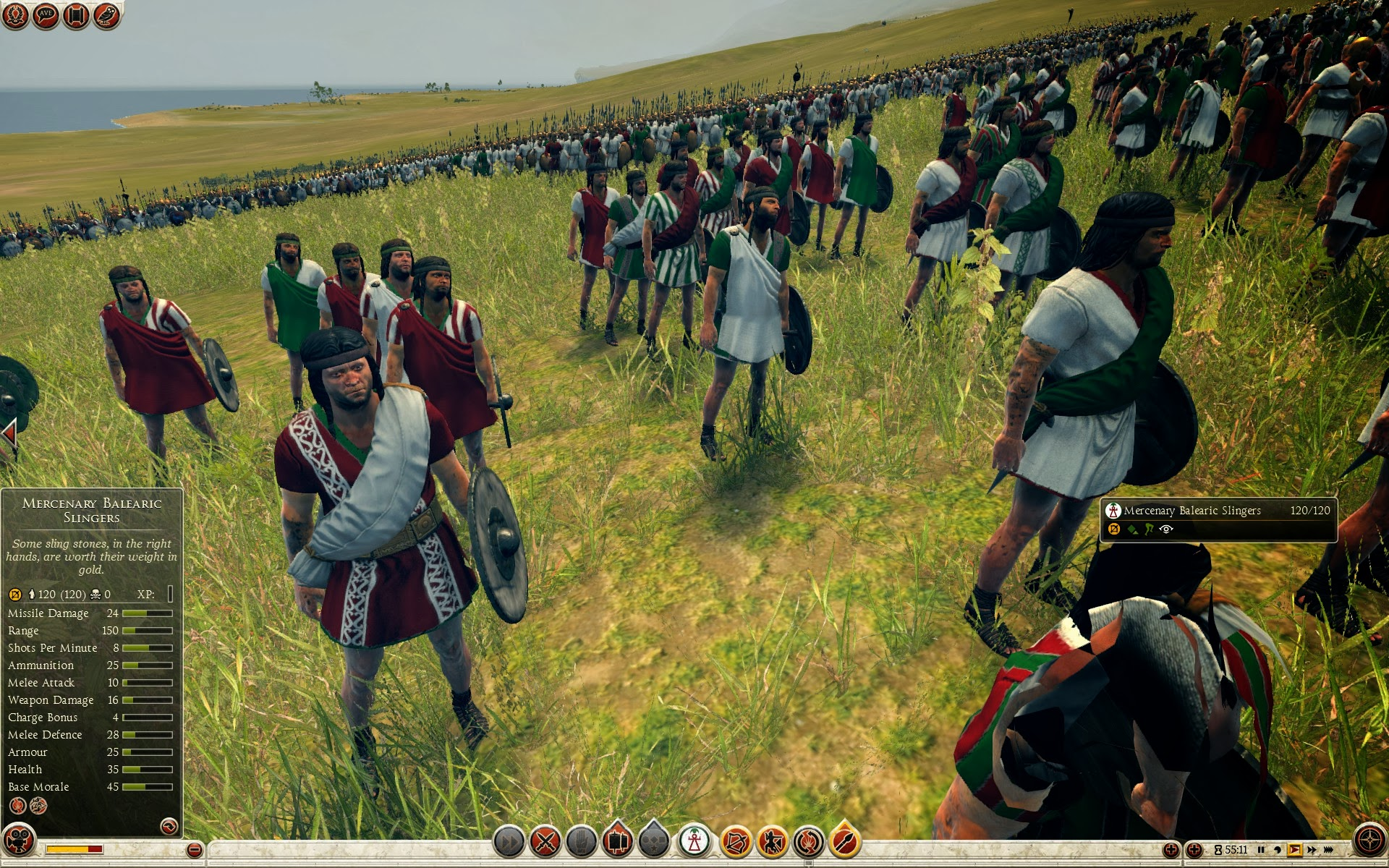 Mercenary Balearic Slingers