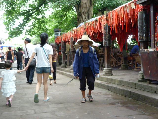 CHINE.SICHUAN.PING LE à 2 heures de Chengdu. Ravissant .Vallée des bambous - P1070511.JPG