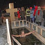 Крещенская вода обжигает