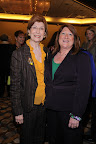 Dolores Barzune; JoLynne Jensen, CFRE and Outstanding Fundraising Executive