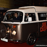 OIC - ENTSIMAGES.COM - Joe Sugg and Caspar Lee arriving in their Camper van at the Joe and Caspar Hit The Road - UK film in London  22nd November 2015 premierePhoto Mobis Photos/OIC 0203 174 1069