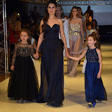 OIC - ENTSIMAGES.COM - Finale at the   Nina Naustdal - catwalk show  as Oslo born designer exhibits her aw 2015 couture - ss 2016 and childrens wear collections in collaboration with MTV Staying Alive Foundation in London 27th September 2015 Photo Mobis Photos/OIC 0203 174 1069