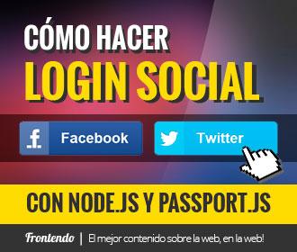 Como hacer Login Social con Facebook y Twitter