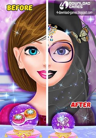 لعبة تلبيس الحجاب Hijab Girl Make Up Salon
