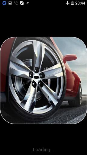 Car Wheel Live Wallpaper