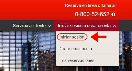 Abrir mi cuenta Hoteles.com - 591