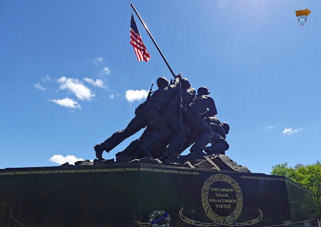 Iwo Jima Memorial, Washington