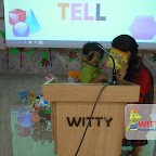 Show and Tell Activity of Playgroup Afternoon Section at Witty World, Chikoowadi (2017-18)