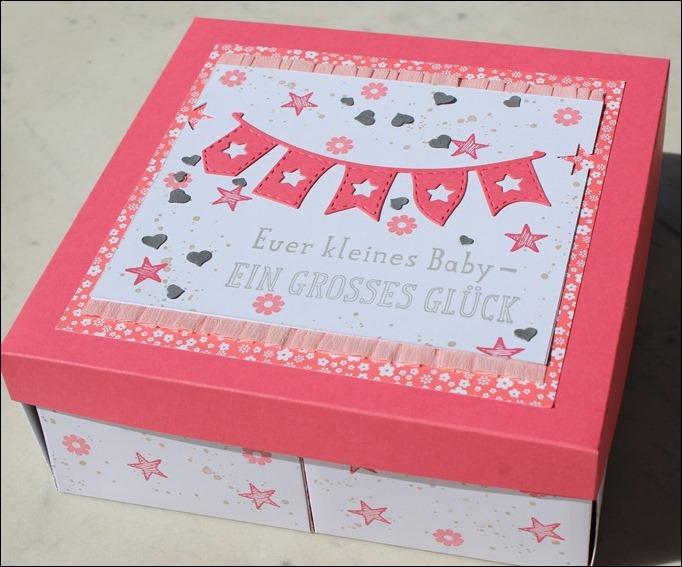 Baby Explosion Box vierfach Kinderzimmer Kinderwagen Garten Girl 01
