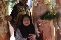 Perjuangan Nenek Lumpuh Datang ke Pernikahan Cucunya demi Bisa Foto Bersama