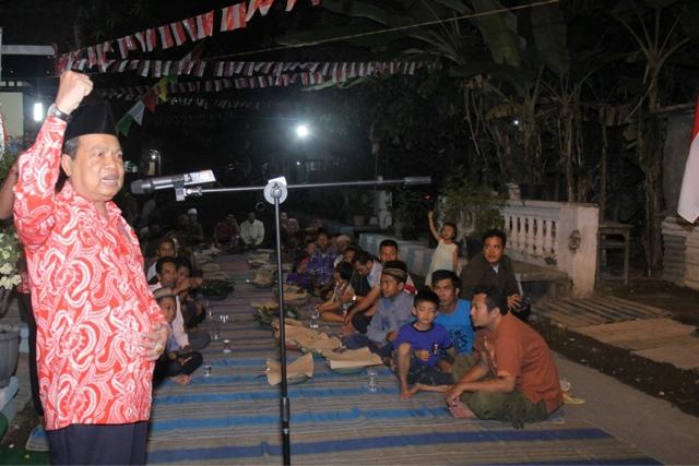 Walikota Mojokerto Blusukan Kenduri Tujuhbelasan