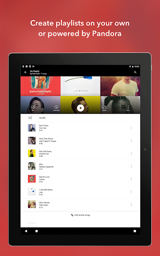 Screenshot 16 for Pandora's Android app'