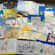 Stajneka z naszego kościoła - prace dzieci