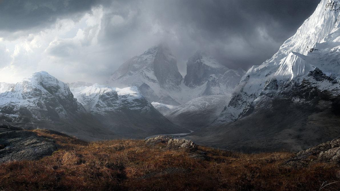 Mountain Pass by rainth341